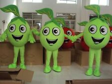 Green Apple Mascot Costume Special Easter Day Halloween Gift Fruit Advertising