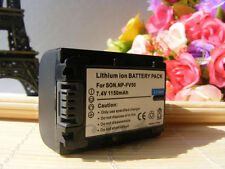 Replacement Sony NP-FV50A V-Series Battery Pack for Handycam Camcorders 1150mAh