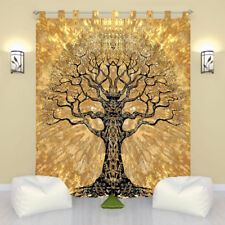 Indian Tree of Life Door Window Curtain Hanging Tapestry Hippie Drape Valances