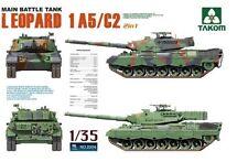 Takom 1/35 2004 Main Battle Tank Leopard 1 A5/C2 2in1 model kit