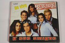En Vivo Rebelde Y Sus Amigos  - Mas Music CD