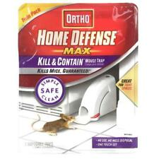 Ortho Home Defense Max Kill & Contain Mouse Trap 2 Pack
