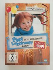 PIPPI LANGSTRUMPF, Jubiläumsedition, Astrid Lindgren, 2 Filme, DVD