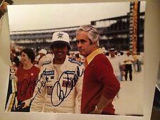 Rick Mears Roger Penske Signed 8 X 10 Photo Autographed