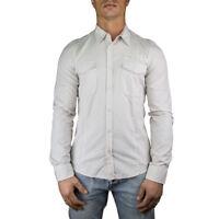 Gas Camicia Uomo Col Bianco tg varie | -50 % OCCASIONE |