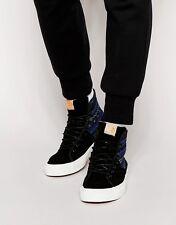 Vans Sk8 Hi Decon SPT CA Italian Weave Blue/Black- Men's Sk8 Shoe Size 11.5 NWB