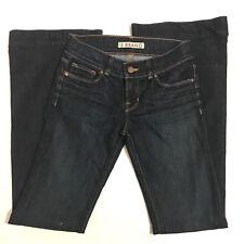 J Brand Women's Bell Botton Jeans Size 26 Dark Wash Denim