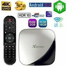 X88 PRO 2GB/16GB Android 9.0 TV Box RK3318 Quad Core 5G WiFi 4K 3D HD Media USB