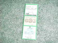 1989 Toronto Blue Jays v Chicago White Sox Baseball Ticket 5/21 George Bell HR