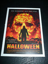 HALLOWEEN, film card [Malcolm McDowell] - a Rob Zombie film