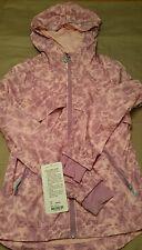 Girls Ivivva Sprint Jacket size 14 new Pink