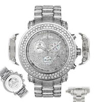Men's Diamond Watch Joe Rodeo Junior JJU36 19.25 Ct Fully Loaded Dial