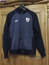 053979c2bc1ac Athletic Club Bilbao jacket track top for boys size L umbro
