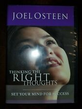 Joel Osteen Thinking The Right Thoughts Set Your Mind For Success 2 CD Set