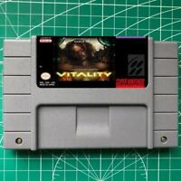 Super Metroid  -V I T A L I T Y  SNES Video Game USA  English Version
