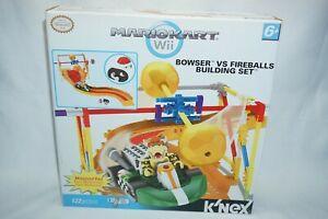 Nintendo K'nex Mario Kart Wii Browser Versus Fireballs Building add on Set