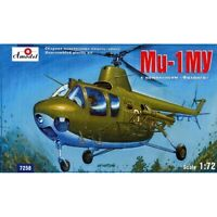 Amodel 7250 - 1/72 MI-1MU Soviet Helicopter Anti-tank Complex plastic model kit
