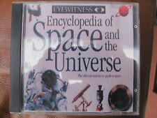 1 CD. Eyewitness Encyclopedia Of Space & The Universe Vintage Software.