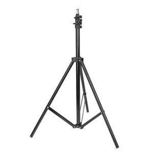Licht Stativ Lampenstativ Light Stand  einstellbare Höhe von 0.8-2m, schwarz