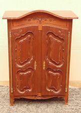 ancienne magnifique armoire poupée coffre bijoux normande bretonne tres bon etat