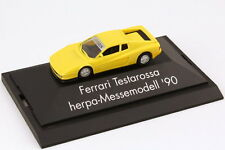 1:87 Ferrari Testarossa Yellow - Exhibition Model AAA 1990 Berlin - Herpa
