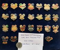 Vintage Super Bowl Dueling Helmet Pin Peter David 1991 - Pick your Pin  Sm