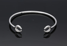 GENUINE LINKS OF LONDON MEDIUM ASCOT DIAMOND ESSENTIALS CUFF 5010.3703 RRP £325