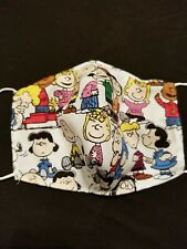 Handmade face mask washable and reusable new Peanuts Gang Adult