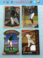 1999+ ALFONSO SORIANO Rookie-SP Lot x 16 Jersey Finest Ultimate Victory Foil UD