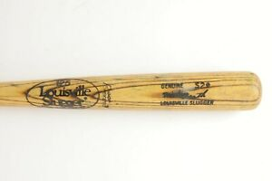 Mid 1980s Mike Heath Detroit Tigers GAME USED Louisville Slugger S2 Baseball Bat