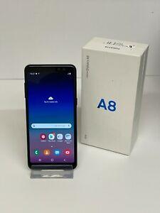 Samsung Galaxy A8, 32GB Storage, Black, Boxed, Network Unlocked - Grade C