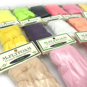 McFLY FOAM - Egg Yarn Glo Bug Sculpin Fly Tying Material - 49 Colors Available!
