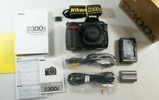 Nikon D300s 12.3 Megapixel Digital SLR Camera HD Video Body in Box