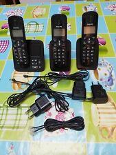 Trío de teléfonos Philips - están como nuevos