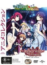 Labyrinth - Eden Of Grisaia (DVD, 2016, 3-Disc Set)