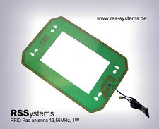 RFID HF 1,2W INDUSTRIAL MIDRANGE PAD ANTENNA 13,56MHz, ,  45cm Read-range