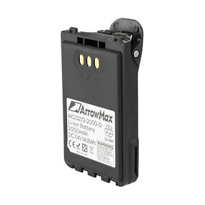 7.4V 2000mAh Rechargable Li-ion Radio Battery Replace BP-272Li for ICOM