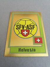 PANINI EURO 80 HELVETIA 209 SWITZERLAND EUROPA 1980 STICKER 74 78 82 84 88 92