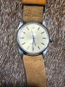 Rolex Oyster Perpetual Gray Men's Watch - 1002 Circa 1959