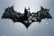 (LAMINATED) BATMAN BAT WINGS POSTER (61x91cm)  PICTURE PRINT NEW ART
