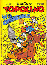 [966] TOPOLINO ed. Mondadori 1985 n.  1525 stato Ottimo