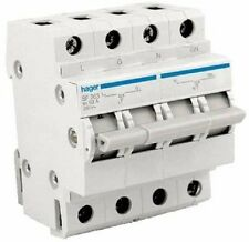 Hager CHANGEOVER SWITCH SF263 230VAC, 2-Poles, 63A Rated Current *German Brand