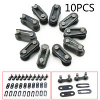 10 X Bicycle Bike Chain Master Link Joint Connector Single Speed Quick-Clip KIT