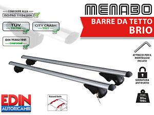 BARRE DA TETTO PORTATUTTO BMW SERIE 3 (E46/3) TOURING 99>05 ALLUMINIO ANTIFURTO