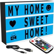 Cambia colore luce cinematografica fino BOX 100 caratteri Telecomando Cavo USB
