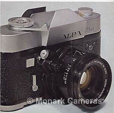 Alpa 11el Camera, Lens & Accessory Sales Brochure, More Leaflets & Guides Listed