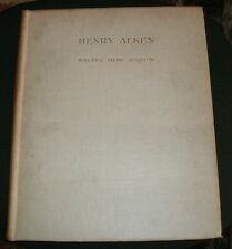 HENRY ALKEN BY WALTER SHAW SPARROW 1927 LIMITED EDITION 250 COPIES HUNTING HORSE