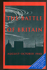 BATTLE OF BRITAIN : An Air Ministry Account  Aug -  Sept, 1940     SB reprint