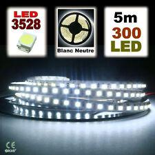 801/5# Ruban LED Blanc pur  5 mètres 300LED