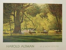Litho/ Original poster Harold Altman - At le Mont Editions - A Sunny Day
